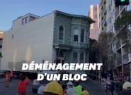 À San Francisco, cette maison victorienne a été déplacée de quelques