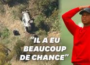 Tiger Woods blessé dans un accident de voiture, le golfeur