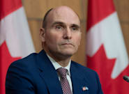 Treasury Board President Jean-Yves Duclos Taking Medical