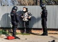 Unas 60 personas cortan la AP-7 en Girona en protesta por el encarcelamiento de