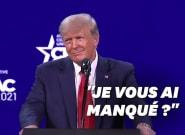 Donald Trump de retour sur la scène politique, avec le même