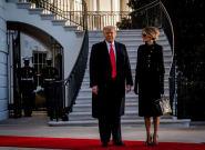 Trump y su esposa se vacunaron antes de abandonar Casa