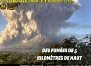 En Indonésie, une éruption volcanique impressionnante filmée en
