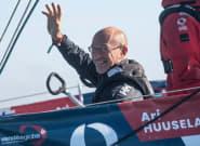 Ari Huusela, dernier marin en course du Vendée Globe, est