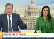 Piers Morgan Condemned By Mental Health Charity Over Meghan Markle