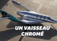 """Virgin Galactic a dévoilé le """"VSS Imagine"""" pour le tourisme"""