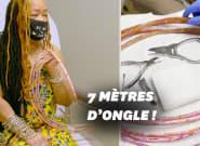 La femme aux ongles les plus longs du monde les coupe pour la 1ère fois en 30