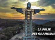 Cette réplique du Christ rédempteur de Rio va dépasser