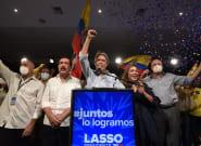 Guillermo Lasso gana las elecciones en Ecuador tras derrotar al