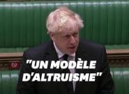 Boris Johnson rend hommage au Prince Philip devant les députés