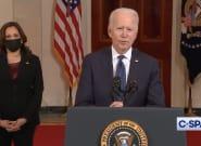 Après le verdict de Derek Chauvin, Joe Biden appelle au