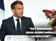 Avec Napoléon, Macron commémore