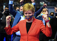 Nicola Sturgeon Hails 'Emphatic' Victory For SNP In Holyrood