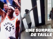 Le basketteur Pascal Siakam a offert une maison à sa