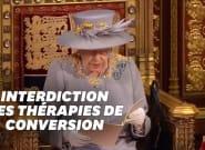 La Reine Elizabeth annonce que les thérapies de conversion vont être