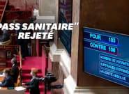 Covid-19: le pass sanitaire rejeté à l'Assemblée