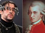 La comparación entre Bad Bunny y Mozart que ha convertido a ambos en 'trending