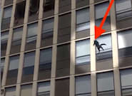 Badass Cat Leaps From Burning Building And Struts Off Like A