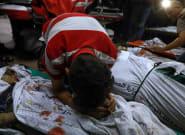 Israel bombardea un campo de refugiados de Gaza matando a una familia entera, con 8