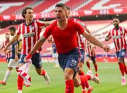 El Atlético remonta al Osasuna (2-1) y se jugará el título en la última