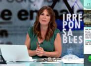 El enfado de Mamen Mendizábal por lo que emitieron en 'Más Vale Tarde':