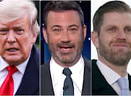'Poor Eric': Jimmy Kimmel Thinks Trump Took A Subtle Dig At His Own