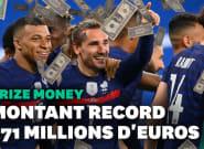 Euro 2021: combien les Bleus gagneront-ils pendant la
