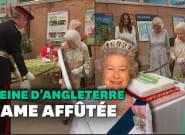 La reine Elizabeth II a une façon de couper les gâteaux bien plus originale que la