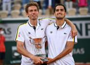 Roland-Garros: Nicolas Mahut et Pierre-Hugues Herbert remportent le