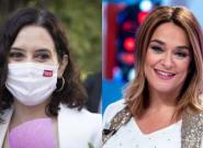 Toñi Moreno responde a Ayuso en Twitter y opina de ella como