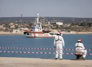 Italia bloquea a cinco barcos de rescate de migrantes en el