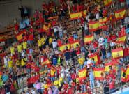 Las imágenes del debut de España ante Suecia en la
