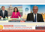 Michael Gove Faces A Double Grilling In Fiery BBC Breakfast And GMB