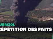 Une usine Lubrizol en feu aux États-Unis, 20 mois après la catastrophe à