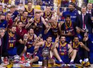 El Barcelona, campeón de la Liga Endesa de
