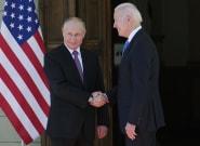 Biden, a Putin, en su primer encuentro:
