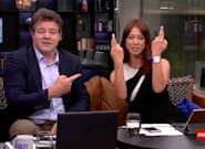 GB News Host Sets The Record Straight After Suggestions She Flipped The Bird Live On