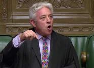 Boris Johnson lâché par John Bercow, ex-speaker star des