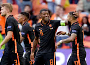 Países Bajos se pasea 'por' Macedonia y llega a octavos