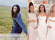 Jade Thirlwall Shares Hilarious Response To Baby Speculation After Bandmates' Pregnancy