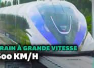 La Chine dévoile un train capable de battre le record de vitesse du TGV