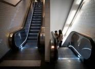 À Paris, 6 blessés dans un rare accident d'escalator dans le