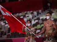 El abanderado de Tonga de Río 2016 ¡ha