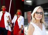Preguntan a Carmen Lomana si los deportistas españoles iban elegantes y su respuesta es