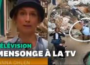 Inondations en Allemagne: une journaliste virée pour avoir fait semblant de participer au