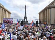 Au Trocadéro à Paris, le rassemblement anti-pass sanitaire ou la soupape de toutes les