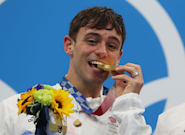 Tom Daley Sends Inspiring Message To LGBTQ+ Community After Olympic Gold
