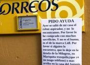 Aparece un extraño cartel en un pueblo de Cádiz: días después aún no está claro que sea