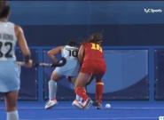 El comentario de la tele argentina en un partido frente a España que da la vuelta al