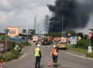 Al menos doce heridos y cinco desaparecidos tras una explosión en una planta química